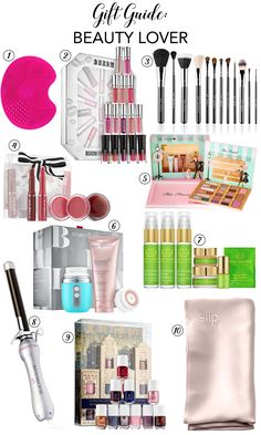 Holiday gift ideas for the beauty lover - Chicfetti Holiday Gift Guide