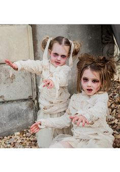 Rise from the sandy pyramids and wreak havoc across the land in our Girls Mummy…