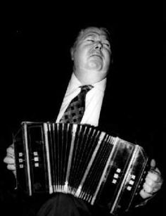 Bandoneon master, Anibal Troilo.  I always wondered if that thing tickled. It appears it does.