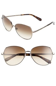 Women's kate spade new york 'candis' 58mm sunglasses