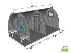 BZBCabinsAndOutdoors Camping Pod BZBCabins Camping pods can make a great addition to your garden if you have friends and family popping in to stay. Camping pods, very popular in Europe, are now being introduced in the United States.