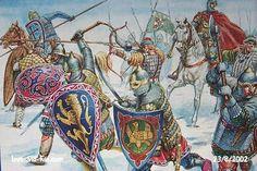 Russian Knights, Post-Mongol Russian - art by Giuseppi Rava