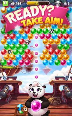 Panda Pop v5.8.021 (Mod Money)   Panda Pop v5.8.021 (Mod Money)Requirements:4.0Overview:Plan your every pop to rescue baby pandas!  An evil baboon has kidnapped & trapped precious panda pups in the jungle. Strategically burst matching bubbles to help beat him & return the cubs to their worried mother! Work your way through increasingly challenging levels and employ the power of the elements to help you in your Panda Pop quest. Bubble-bursting powerups will help you free the pups combine them…
