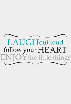 'Laugh Out Loud' Wall Decal Set