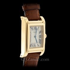 87610dad018 Cartier Yellow Gold Tank a vis CPCP Collection Privee