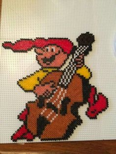 Pearler Bead Patterns, Pearler Beads, Christmas Cross, Christmas Elf, Beading Patterns, Bowser, Cross Stitch, Ornaments, Camilla