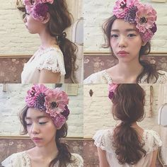 * * wedding hair * * #ヘアアレンジ #ウェディング #浜松市 #マリhair
