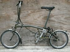 Brompton M3l Raw Lacquer 3 Speed Folding Bike Bicycle Worldwide Shipping Bicycle Wheels For Sale Brompton