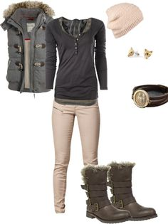 """""""warm casual"""" by mary-osomoe on Polyvore"""