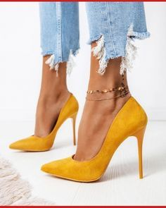 Stiletto Pumps, Suede Pumps, Gold Pumps, Pumps Heels, Women's Stilettos, Flats, Pretty Shoes, Awesome Shoes, Shoe Collection