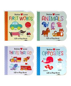 Look what I found on #zulily! Babies Love Lift-the-Flap Board Book Set by Cottage Door Press #zulilyfinds