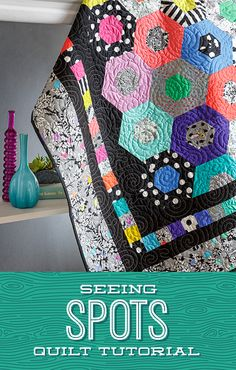 Are you seeing spots? Jenny Doan demonstrates how to make a gorgeous Seeing Spots quilt using the Missouri Star 60 degree triangle template ruler and 2.5 inch strips of precut fabric. You won't believe how vibrant this project becomes when Jenny uses Linework, the latest line of fabric from Tula Pink! Follow the link below to watch the tutorial now! #MissouriStarQuiltCo #JennyDoan #SeeingSpotsQuilt #TulaPink #StripQuilt #ModernQuilt #ModernAesthetic #Quilting #Quilt #QuiltTutorial…