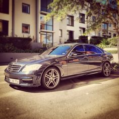 Mercedes Benz S55 AMG