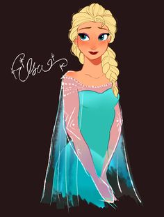 Elsa << Wow, I really like this one.