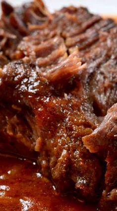 Cajun Pot Roast with Tomato Gravy (Instant Recipes Dinners) Creole Recipes, Cajun Recipes, Meat Recipes, Slow Cooker Recipes, Crockpot Recipes, Cooking Recipes, Lamb Recipes, Creole Cooking, Cajun Cooking