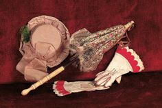 antique french doll accessories | Theriault's Antique Doll Auctions - Accessories for Lady Dolls ...