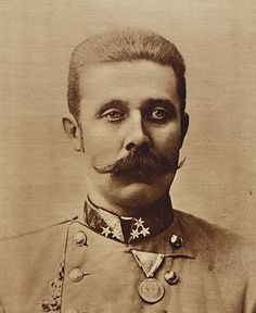 """December 18, 1863: Born, Archduke Franz Ferdinand of Austria. The Archduke is primarily known to history because of his assassination, an event that was one of the primary triggers of World War I. He has been described as """"a man ... of uninspired energy, dark in appearance and emotion, who radiated an aura of strangeness and cast a shadow of violence and recklessness."""" He was also an avid game hunter, amassing about 300,000 kills, about 100,000 of which were kept as trophies in his castle."""
