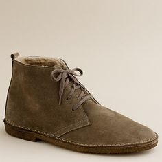 23e93e91207 Suede shearling-lined MacAlister boots Camisas Formales