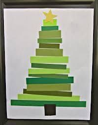 Green tape christmas tree (draw lines on paper, students measure on line and cut tape and tape it to each line)