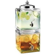 what a great space saver!!  Del Sol Tiered Drink Dispenser - The Lemonade Stand on Joss and Main