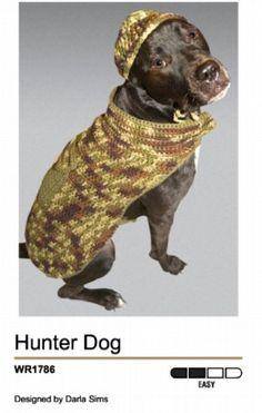 Crochet+Sweater+Patterns   CROCHET DOG DOG PATTERN SWEATER   FREE PATTERNS