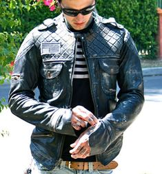 Padded Leather Moto Jacket from Delicious Boutique & Corseterie