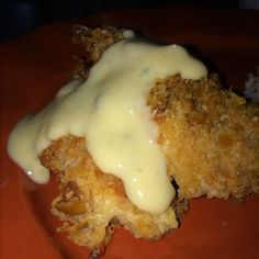 Ritzy Parmesan Cream Cheese Breaded Chicken Recipe from UtahMama4 | MyRecipes.com Mobile