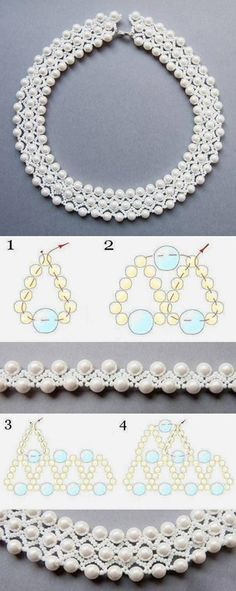 and Jewels - Diy Jewelry, . Beadwork and Jewels - Diy Jewelry, Beadwork and Jewels - Diy Jewelry, Beaded Necklace Patterns, Bracelet Patterns, Beaded Bracelets, Beaded Earrings, Seed Bead Jewelry, Bead Jewellery, Seed Beads, Gold Jewelry, Beaded Jewelry