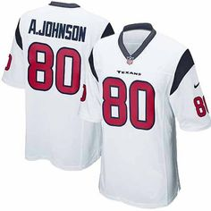 New Youth White Nike Game Houston Texans #80 Andre Johnson NFL Jersey | All Size Free Shipping. Size S, M,L, 2X, 3X, 4X, 5X. Our massive selection of Youth White Nike Game Houston Texans #80 Andre Johnson NFL Jersey coupled with our competitive prices, fast shipping and friendly service for nike jerseys is why we are the largest fan shop online.