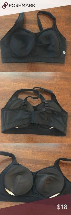 Lululemon Athletica Black TaTa Tamer 34DD Gently used. In good condition. 34DD. Great supportive bra. lululemon athletica Intimates & Sleepwear Bras
