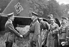 Hitler in Poland by Heinrich Hoffmann -- The Fuhrer and Supreme Commander thanked Colonel-General List