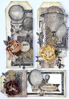 Presenting: The Cartographer Collection. Tags by Janine Koczwara for Prima
