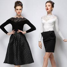 2015 Long Sleeve White Lace Blouse O-Neck Women Blouses Fashion Elegant Blusas Femininas 2015 blusa renda Woman Clothes Tops 727