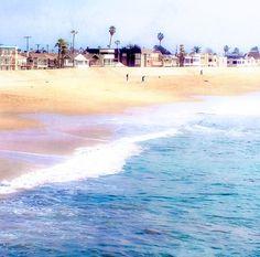 Beach Photography serenity blue ocean photography California Seal Beach Orange County Los Angeles Waves LA surf