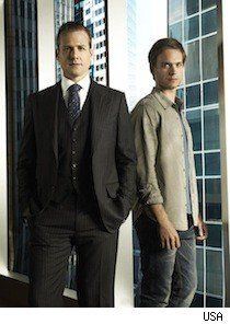If you haven't seen this show I highly recommend it - Suits, on USA