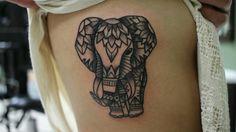 Elephant Mandala Tattoo by Shane Olds. Instagram @shane_olds Studio thirteen on Alafaya trail in Orlando