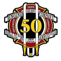 Chicago FD Engine 50's decal