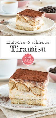Tiramisu Original, Classic Tiramisu Recipe, Tiramisu Dessert, Just Eat It, Cooker Recipes, Sweet Recipes, Bakery, Food Porn, Food And Drink