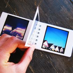 Minibook: Print your Instagram photos in a special little book. The photos are printed back to back on cardstock with a glossy photo-finish. Its a simple product, but a good one. Photos are printed at just about the same size they apear on your iPhone. 2 books of 50 photos each for $12. #instagram