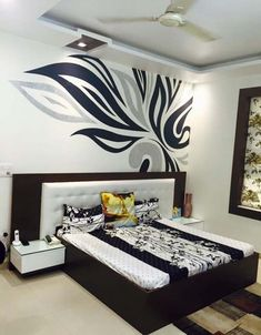 Residence interiors modern style bedroom by akaar architects modern Wardrobe Design Bedroom, Bedroom Bed Design, Bedroom Furniture Design, Modern Bedroom Design, Home Room Design, Home Interior Design, Bedroom Ideas, Modern Decor, Master Bedroom