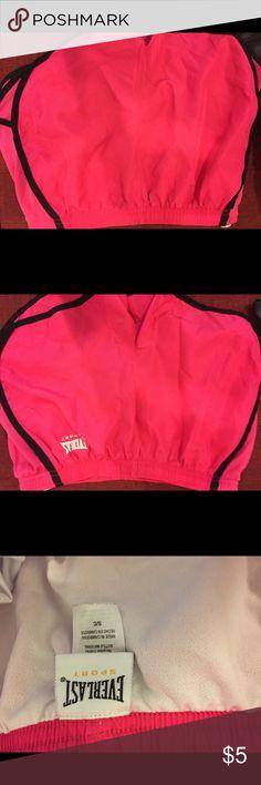 Pink workout running shorts Hot pink workout running shorts. everlast Shorts