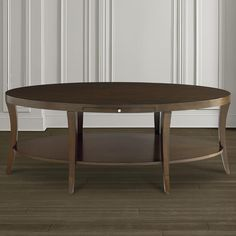 Oval Cocktail Table by Bassett Furniture