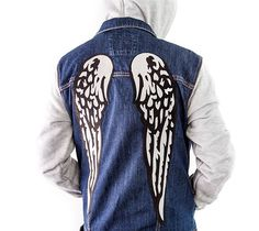 DIY Daryl Dixon inspired Wing Jacket