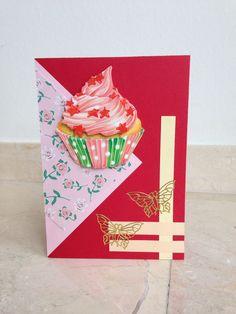 Schattige verjaardagskaart! Cute birthday card! DIY