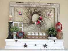 DIY Large Chicken Wire Frame and Barnwood Painting Technique DIY Home Decor Crafts