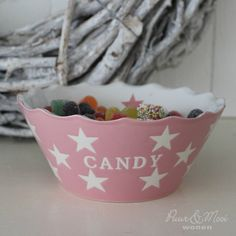 Candy Kom Pink Star