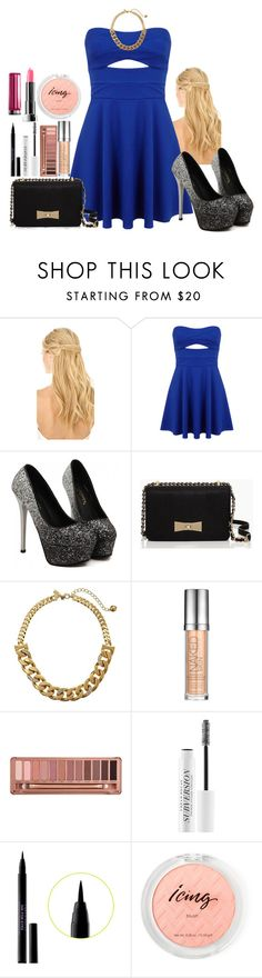 """""""A Paris Date with Étienne St. Clair - from Anna and the French Kiss"""" by kristinej18 ❤ liked on Polyvore featuring Pluie, Miss Selfridge, Kate Spade, Urban Decay and Maybelline"""