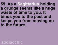 So true for me. People who hold grudges are usually bitter and that's not me! lolll