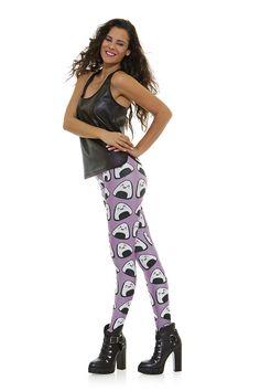 Leggings diseño exclusivo fabricado en España Modelo ARROZ www.legx.es