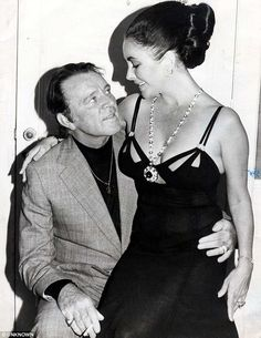 Elizabeth Taylor and Richard Burton---they couldn't stay apart or together. One of my favorite couples ever. #taylorandburton